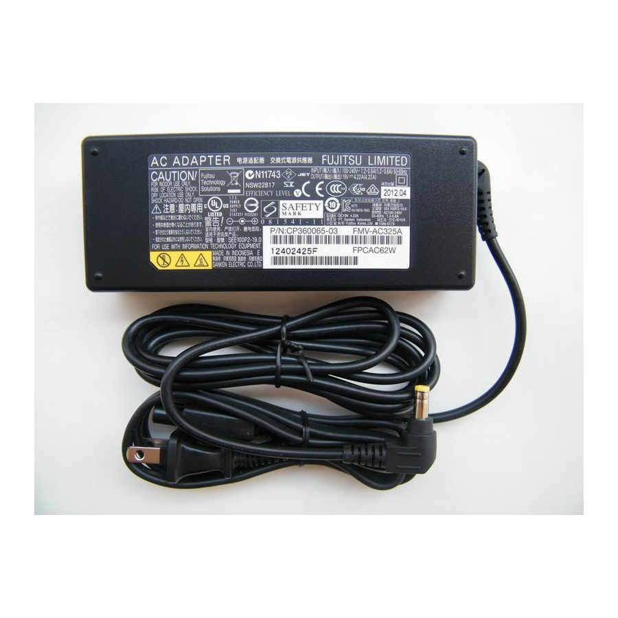 Original 80W 19V 4.22A AC Power Adapter For Fujitsu CP410715-01 ADP-80NB A