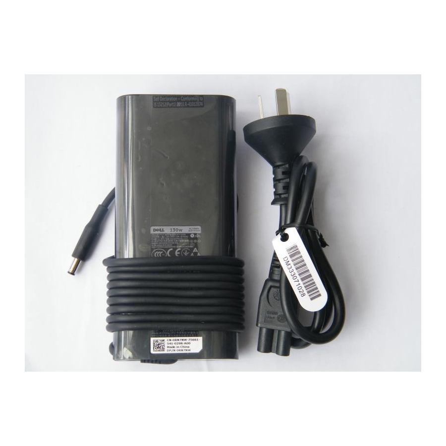 Original 130W 6.67A AC Adapter For Dell Precision M3800/i7-4702HQ Mobile Workstation
