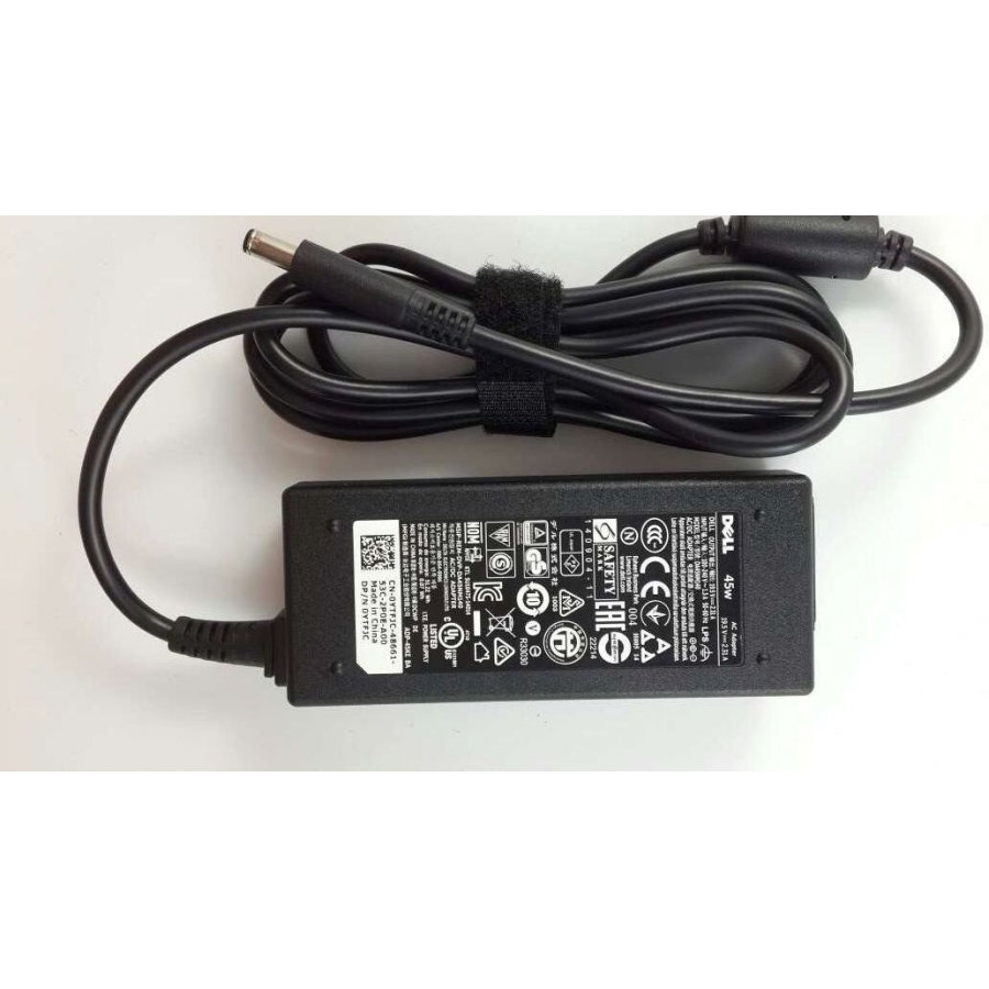 Original Genuine OEM 45W AC Adapter for Dell Inspiron 14 I7437T-2509SLV Notebook