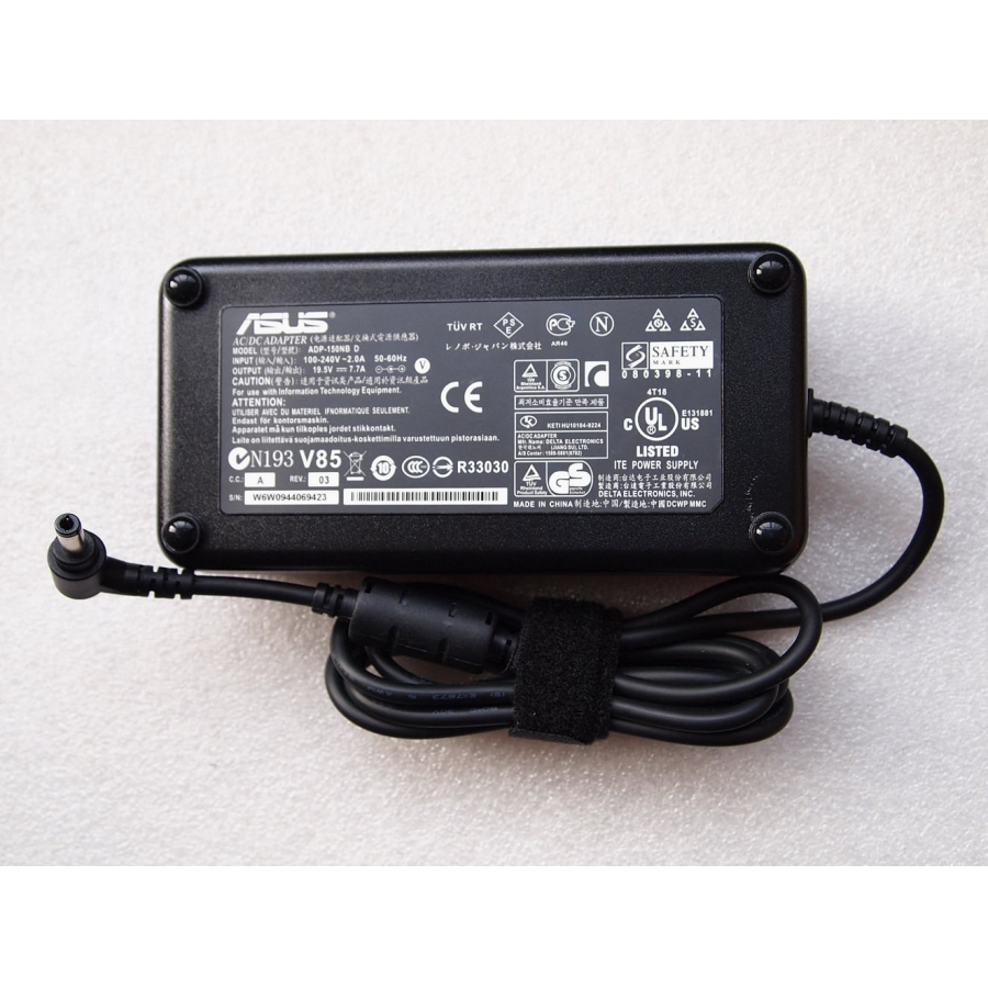 New Original OEM Asus 150W AC Adapter for MSI GS70 Stealth 2PE-417XFR,ADP-150VB