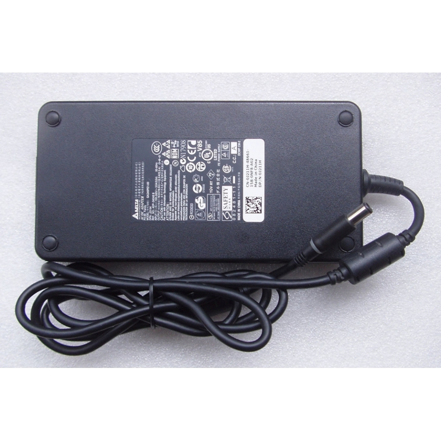 240W Slim Dell Alienware M17x R3/AMD 6870M AC Adapter + Free Cord
