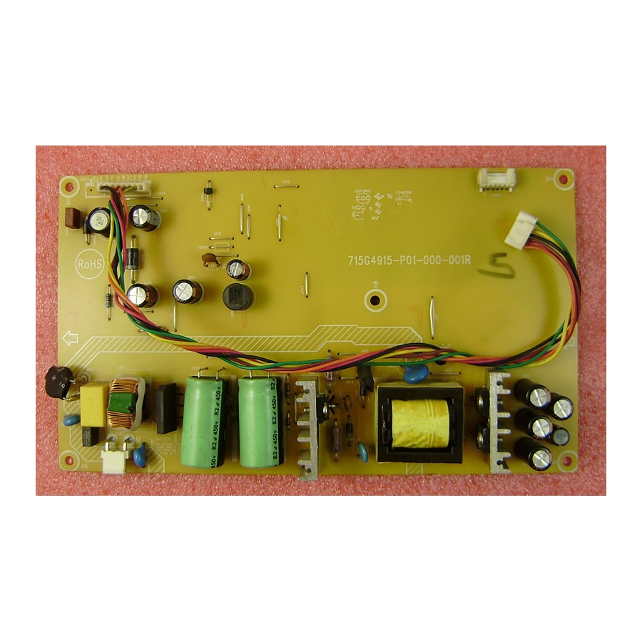 AOC V27T 270LT00001 LED Power Supply Board 715G4915-P01-000-001R