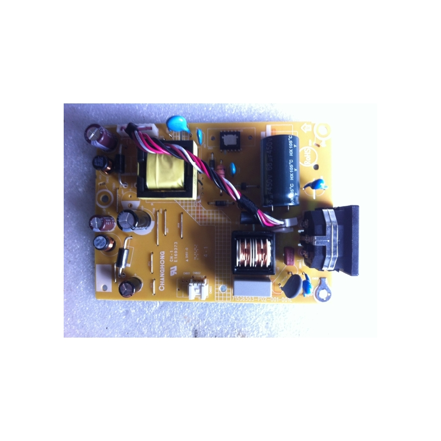 AOC E2070SWN E2270SWN Power Supply Board 715G6503-P01-001-001C